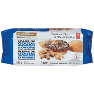 Free From Loads of Gouda Mushrooms & Onions Gluten-Free Beef Burgers