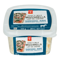 Shredded Goat Milk Mozzarella
