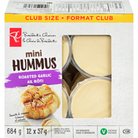 Hummus, Roasted Garlic Mini Club Pack