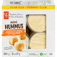 Hummus, Original Mini Club Pack