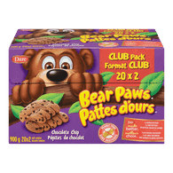 Bear Paws, Chocolate Chip