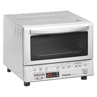 Toaster Oven with Double Infrared Heating