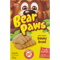 Bear Paws, Banana Bread