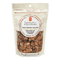 Raw Pecan Halves, Unsalted