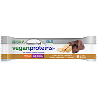 Fermented Vegan Proteins+ Bar, Peanut Butter Chocolate