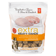 Extra Meaty Dog Treats, Chicken Meatballs