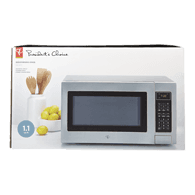 Stainless Steel Microwave , 1.1 Cu Ft