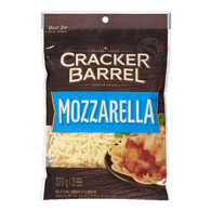 Cracker Barrel Shredded Cheese, Mozzarella