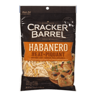 Cracker Barrel Shredded Cheese, Habanero Heat
