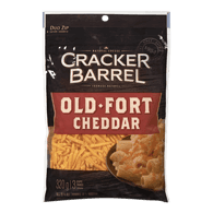 Cracker Barrel Shredded Cheese, Old Cheddar