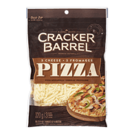 Cracker Barrel Shredded Cheese, 3 Cheese Pizza Mozzarella