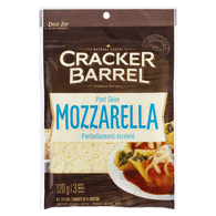 Cracker Barrel Natural Part Skim Shredded Mozzarella