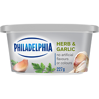 Soft Cream Cheese, Herb & Garlic