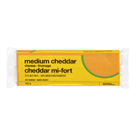 Cheese, Medium Cheddar