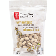 Pistachios, Jumbo Plain Dry Roasted