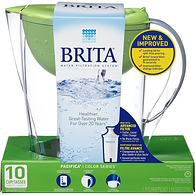 Pacifica Water Filter Pitcher, Green