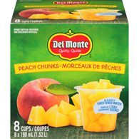 Peach Chunks in Light Syrup 8 Cups x (1.52 L) (Case)
