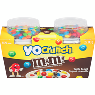 Vanilla/M&M's 1.5% M.F. Yogurt,2x143g