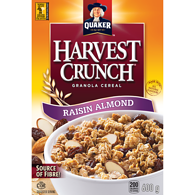 Harvest Crunch Cereal, Raisin Almond
