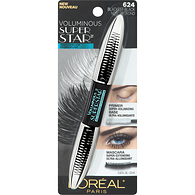 Voluminous Superstar Waterproof Mascara, Blackest Black