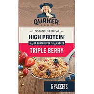 Instant Oatmeal, High Protein - Triple Berry