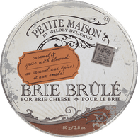 Brie Brule, Caramel & Spice With Almonds