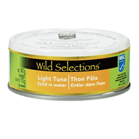 Wild Selections Light Tuna, Solid in Water