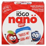 Nano Pouch, Blueberry & Yogurt