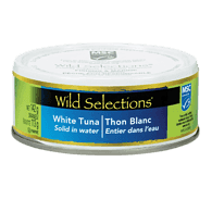 Wild Selections White Tuna, Solid in Water