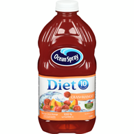 Diet Cranberry Mango Cocktail