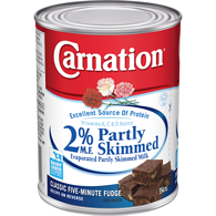 2% Evaporated Partly Skimmed Milk