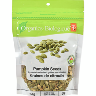 Organic Dry Salted Pumpkin Seeds