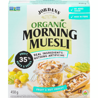 Muesli Organic Dried Fruit Nuts Sunflower Seeds