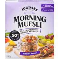 Supreme Muesli 50% Fruits & Nuts