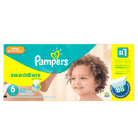 Swaddlers, Super Economy Pack Size 6 Diapers