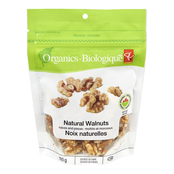 PC Organics Natural Walnuts Halves And Pieces