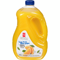 Orange Juice, No Pulp