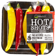 Mixed Hot Pencil Peppers
