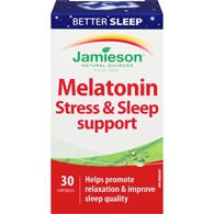 Melatonin Stress & Sleep Support