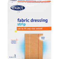 Fabric Dressing Strip