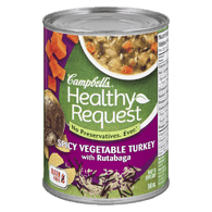Healthy Request Spicy Vegetable Turkey with Rutabaga