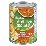 Healthy Request Curried Cauliflower Lentil