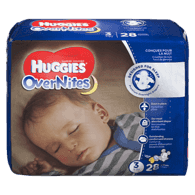 OverNites Diapers, Step 3 Jumbo Pack