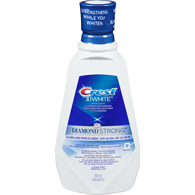 3D White Diamond Strong Oral Rinse, Smooth Mint