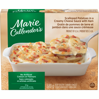 Scalloped Potatoes in Cheese Sauce, With Ham