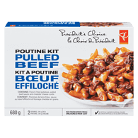 Pulled Beef Poutine Kit