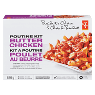 Butter Chicken Poutine Kit