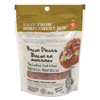 Bacon Pieces, Fully Cooked