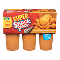 Snack Pack, Butterscotch Pudding