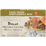 Bacon Slices, Fully Cooked